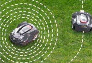 Robottiruohonleikkurin asennus- ja huoltotyöt